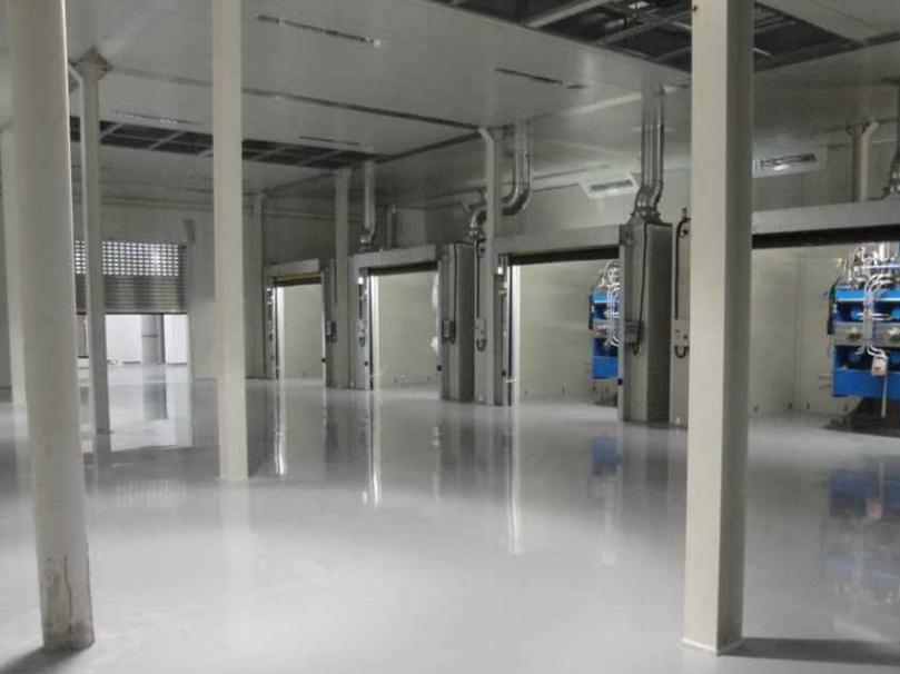 Rcr industrial flooring international flooring projects for Dhl madrid oficinas